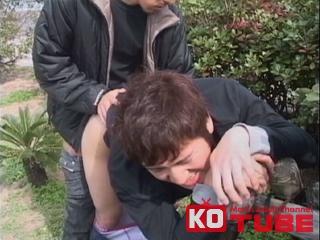 【エロ動画】go guy plus 素朴系童貞青年が初野外セックスに興奮!?掘られまくって最後は顔射!|ボーイズラバー!