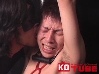【エロ動画】deep 競パンの今風ノンケを鞭と蝋で責めあげる!!のエロ画像1枚目