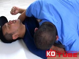 【エロ動画】DANJI VIDEO Plus! 自主トレ中のいかつい警官をデカマラ野郎が容赦なく責める|ボーイズラバー!