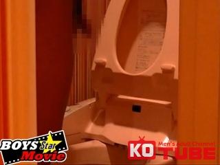 エロ動画、BOYS STAR MOVIE 『THE・男の排便Vol.1放尿&脱糞大公開です』の表紙画像